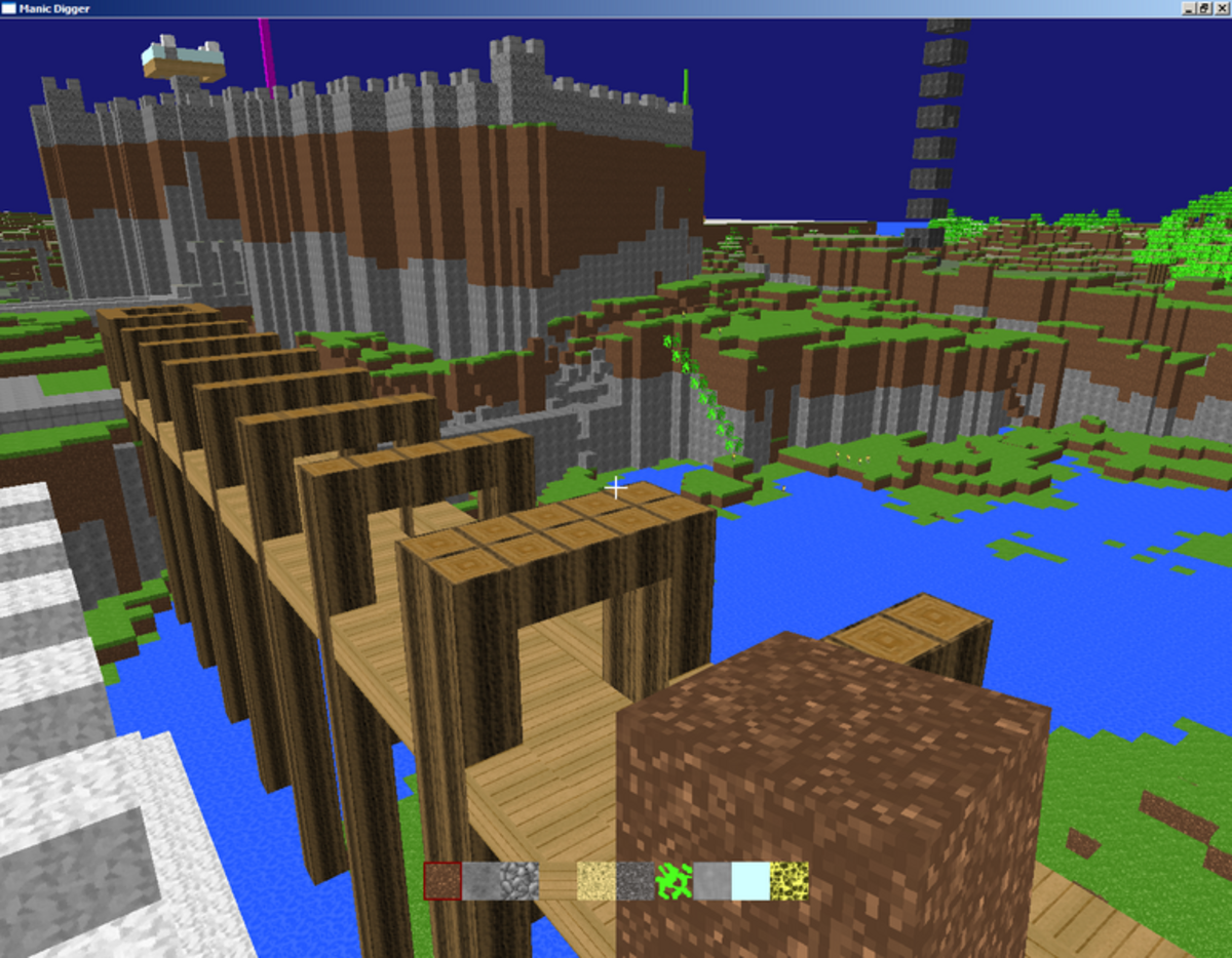 free building games like minecraft for ipad