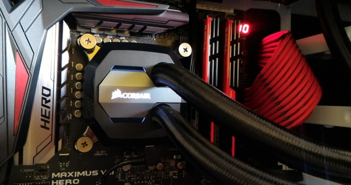 The Corsair Hydro series gives you one of the best bangs for your buck for liquid CPU cooling.