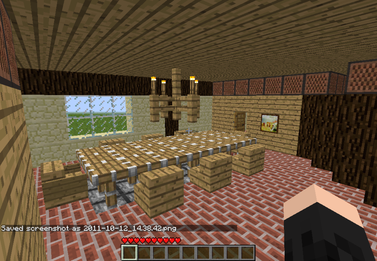 """How to Make Furniture for Your """"Minecraft"""" House: A Tutorial"""