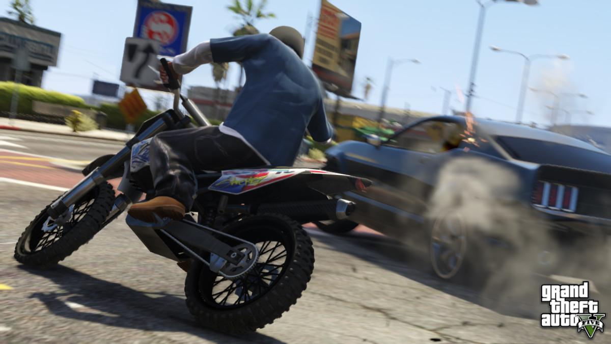 """""""Grand Theft Auto V"""" Karim."""