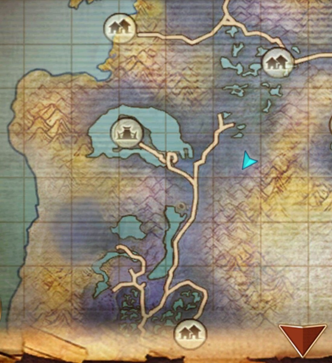 The Mountain Queen Location in Swamp of Wyrms.