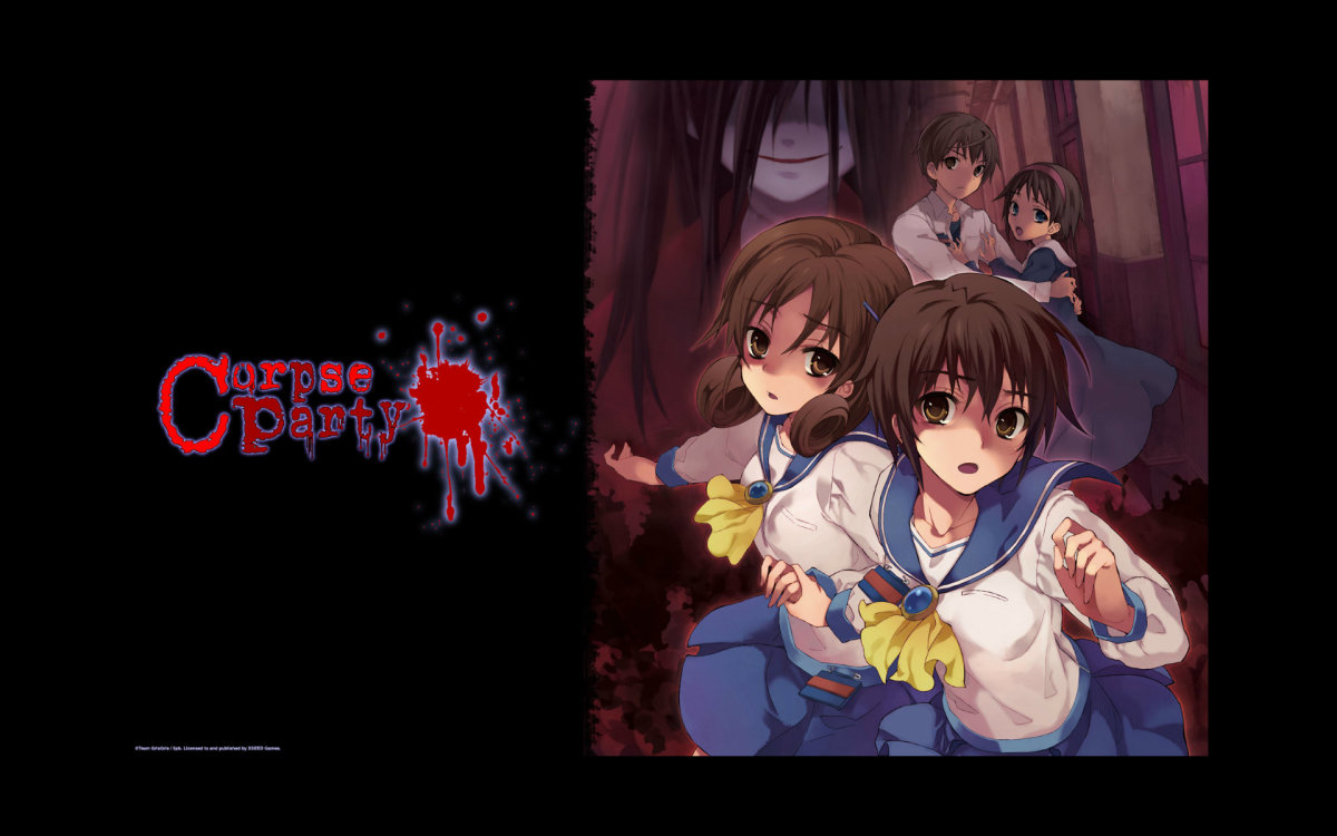 """Promotional Art for """"Corpse Party"""""""