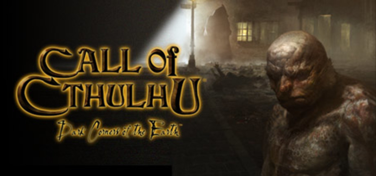 Promotional art for Call of Cthulhu: Dark Corners of the Earth