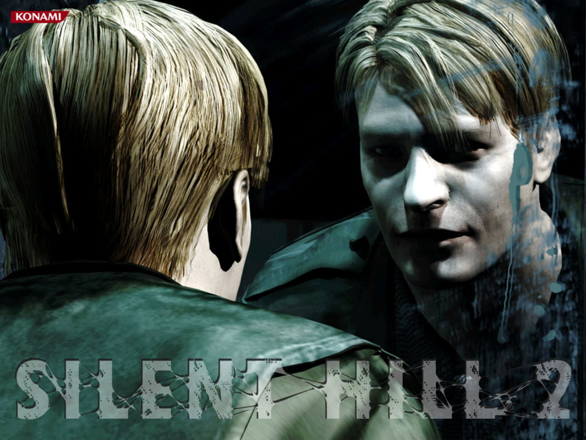 """Promotional Art for """"Silent Hill 2"""""""