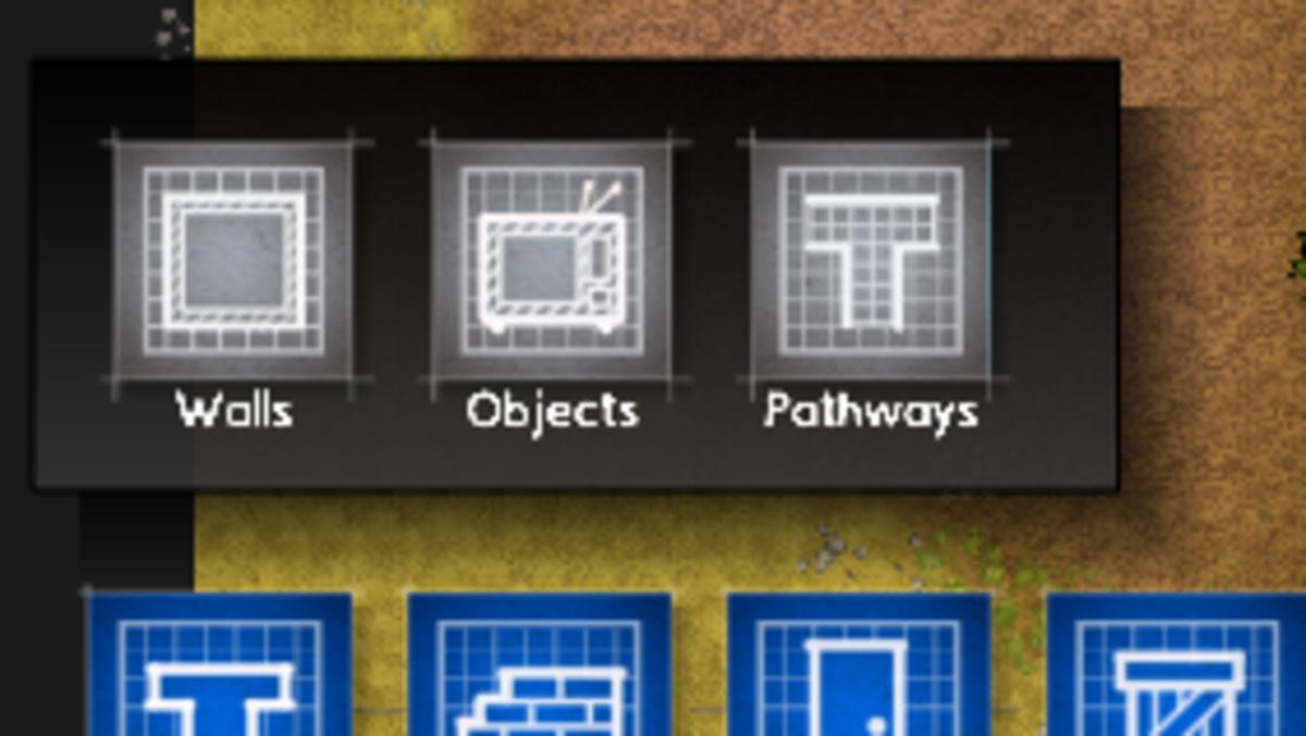The Planning sub-menu.