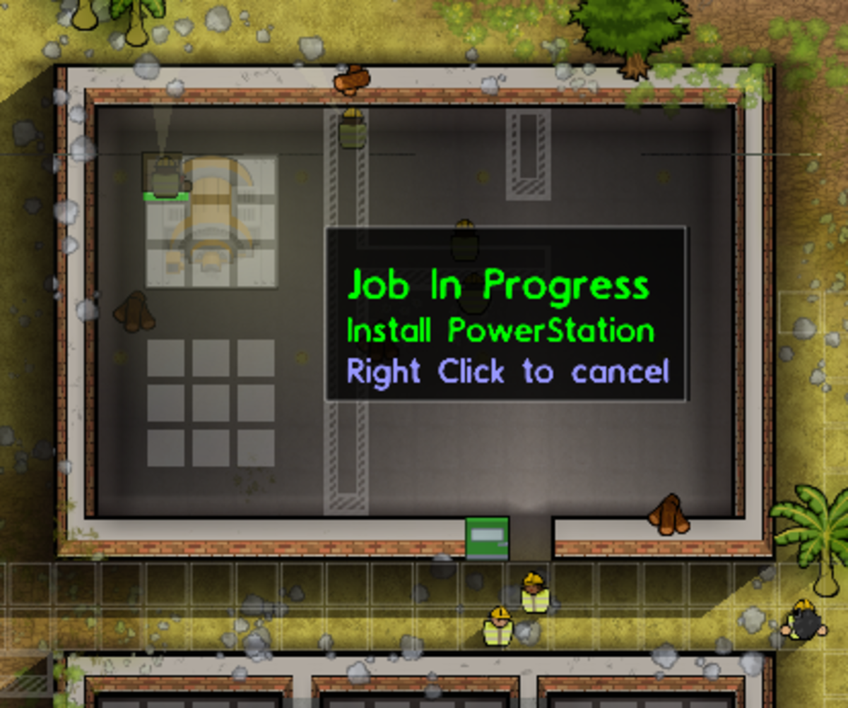 To add utilities, you'll need to start by building a Power Station.