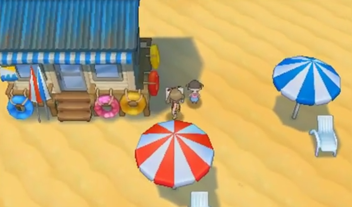 The Seashore House of Route 109, home to some blazing hot trainers. Also snow cones.