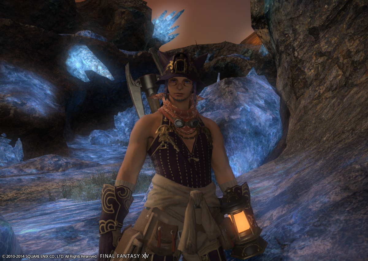 Mining in FFXIV can give you a LOT of money, especially @ 50 with Unspoiled Nodes.