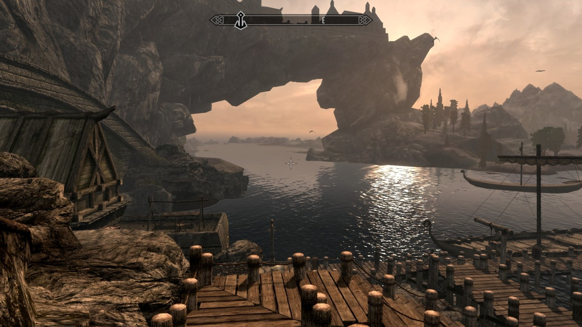 Skyrim in game screenshot courtesy of Bethesda and Zenimax.