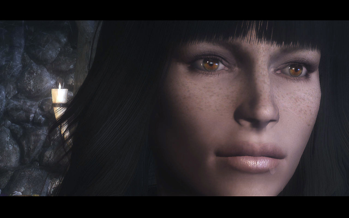 """Eyes of Beauty"" adds beautiful eyes to Player Characters and NPCs in"" Skyrim""."