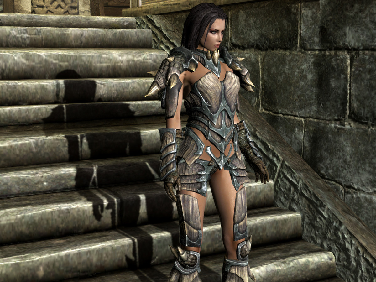 "The ""DIMONIZED UNP"" Female Body model for ""Skyrim""."