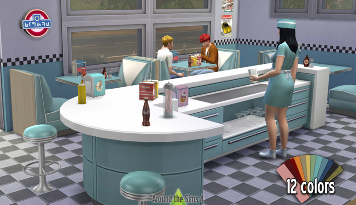 I love this 50's diner set!