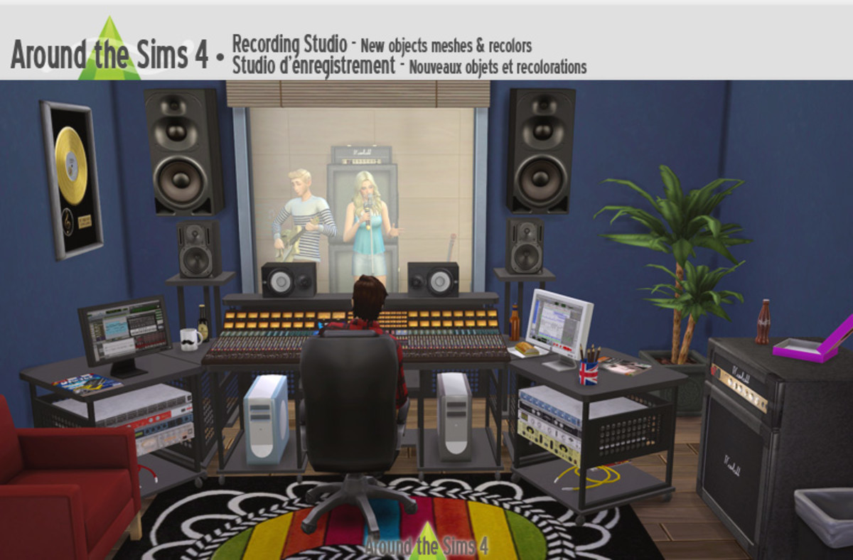 If your Sim is in the music career, they might need this cute recording studio set!
