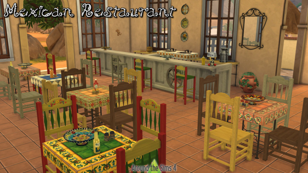 How about a cozy Mexican restaurant in your town?