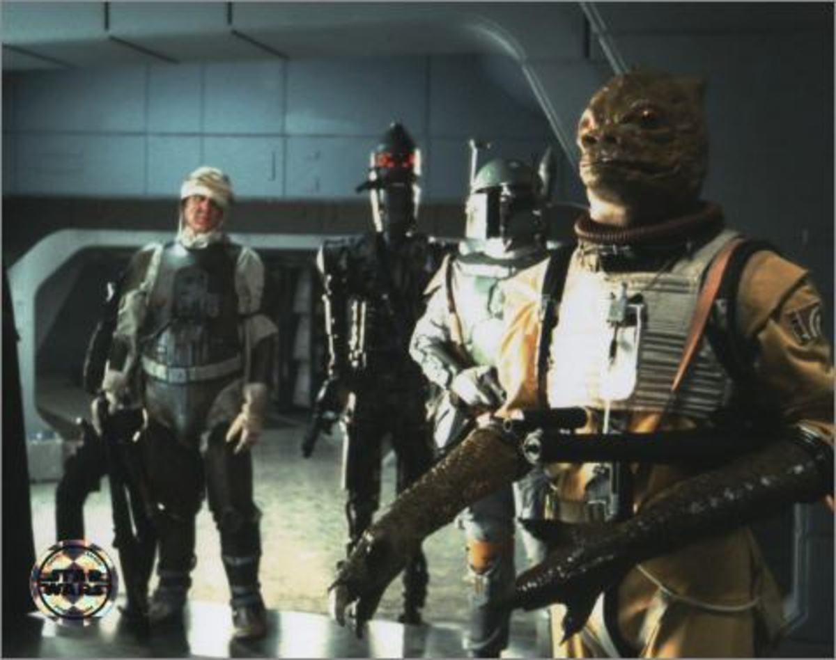 Bossk is one of the original bounty hunters.