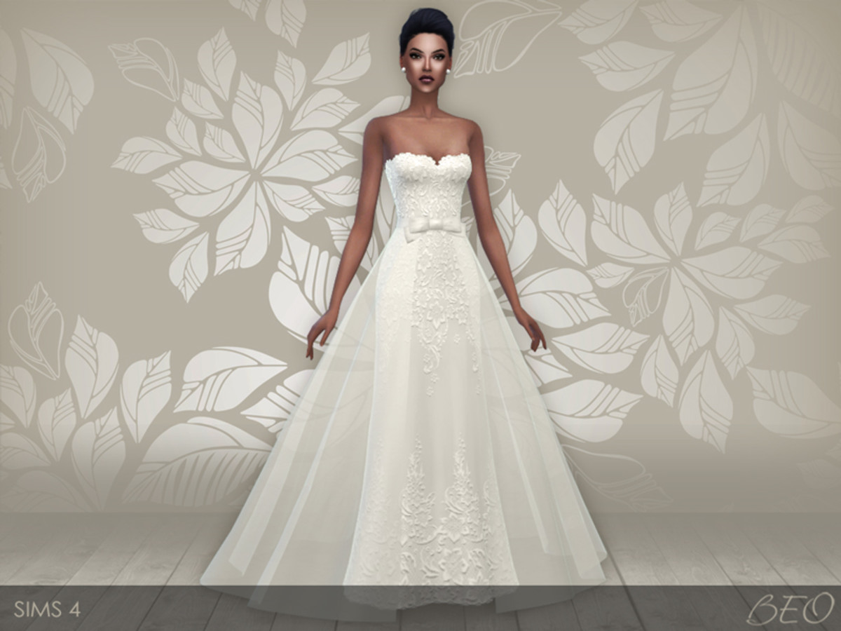 A beautiful bride needs a beautiful gown!