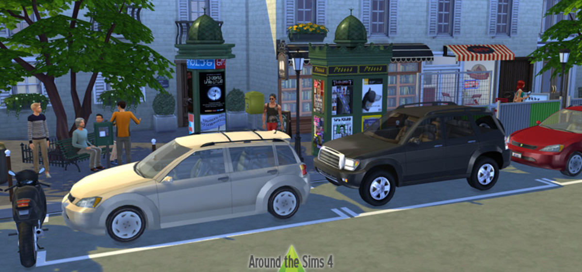Add some decorative cars to your town!