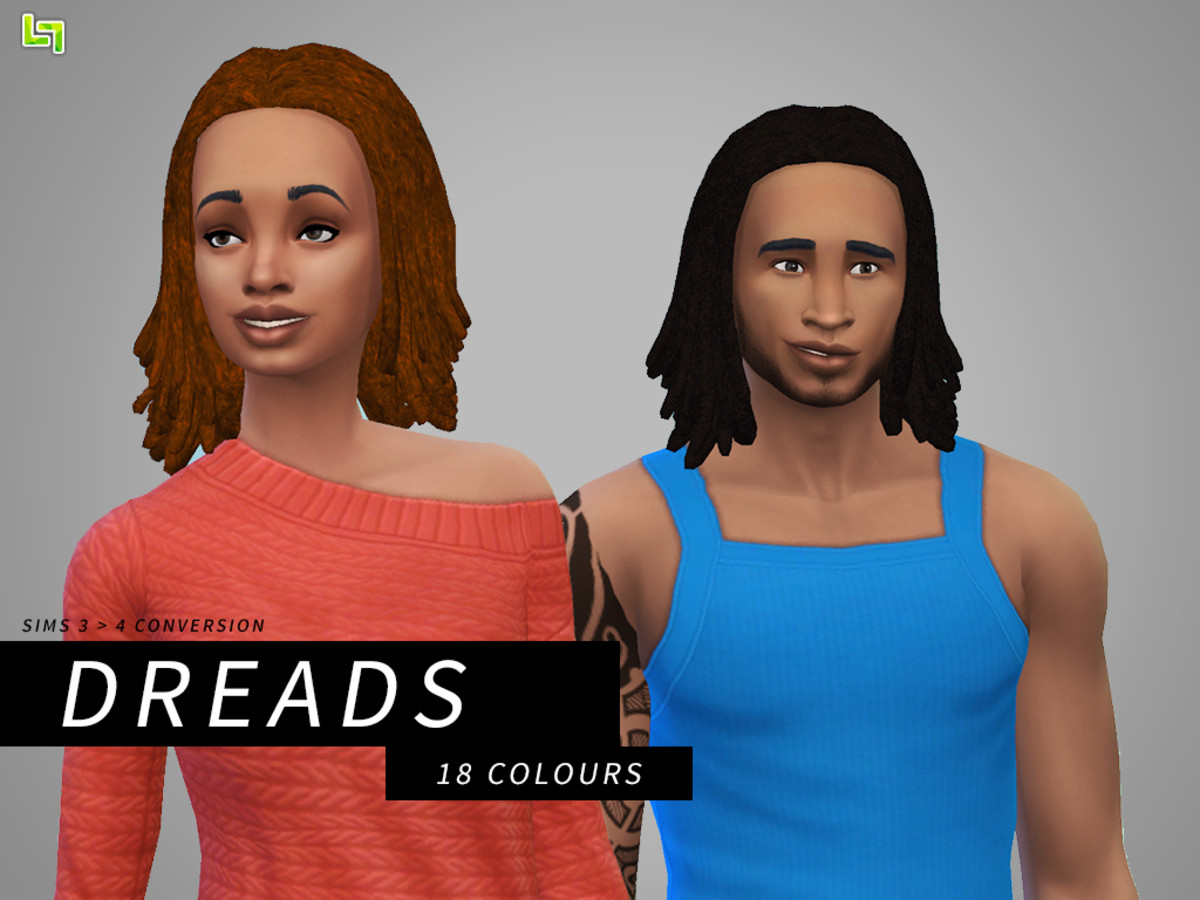 The Sims 4 definitely needs some dreads in it!