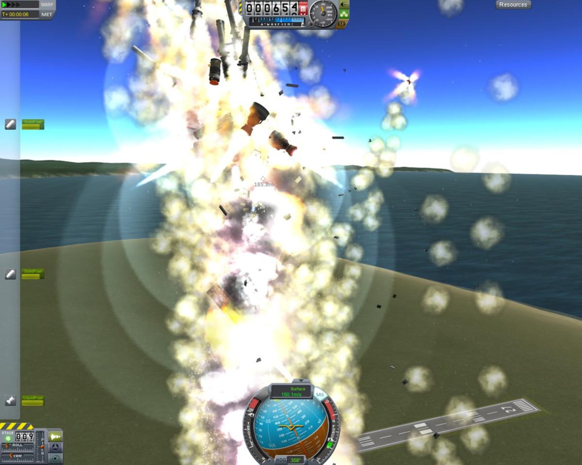 A Spectacular Explosion