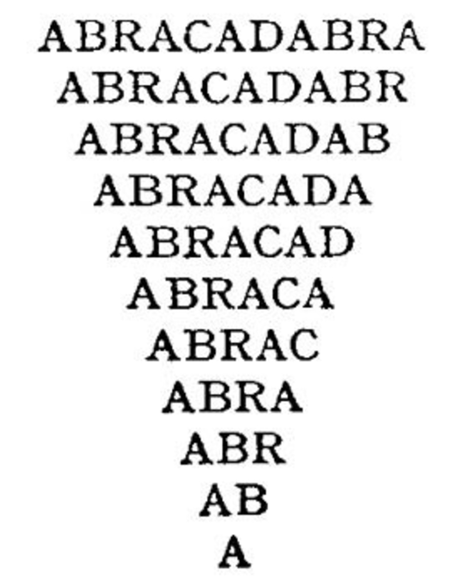 """Interestingly enough, the word """"Abracadabra"""", the origin of the names """"Abra"""" and """"Kadabra"""" originates in Gnosticism and other forms of 3rd century Roman mysticism."""