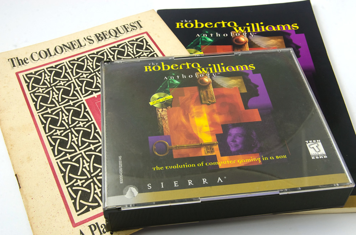 The Roberta Williams Anthology. I bought this in 1997 purely for the two Laura Bow games contained within.
