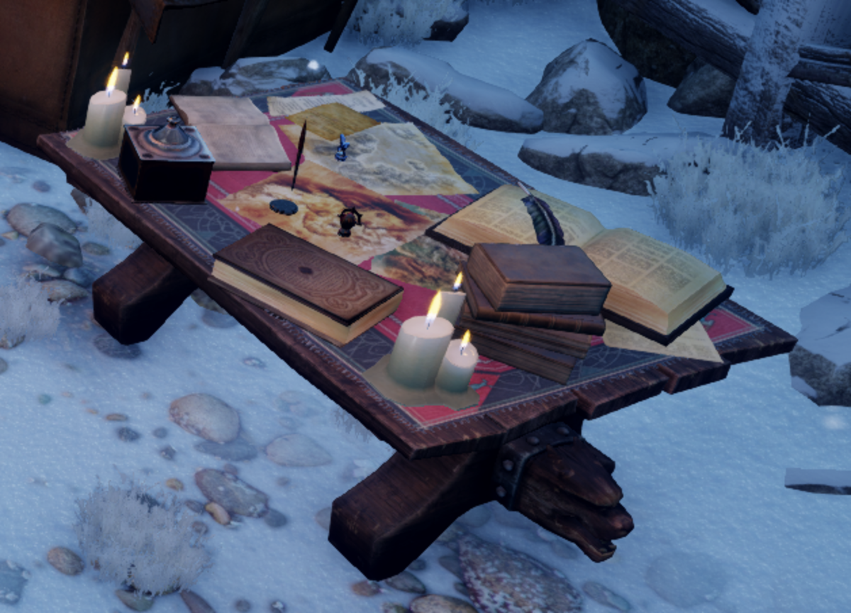 A Requisition Table can be found in any campsite, Haven or Skyhold