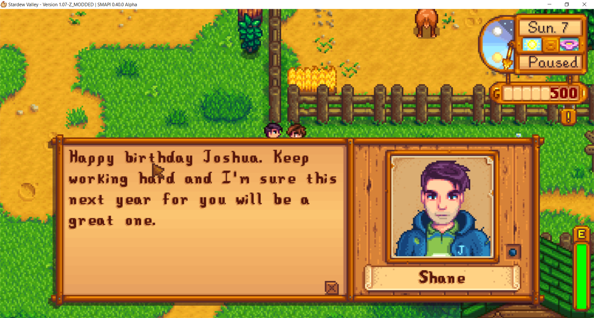 "You can finally have a birthday of your own in ""Stardew Valley,"" with Alpha_Omegasis's mod!"