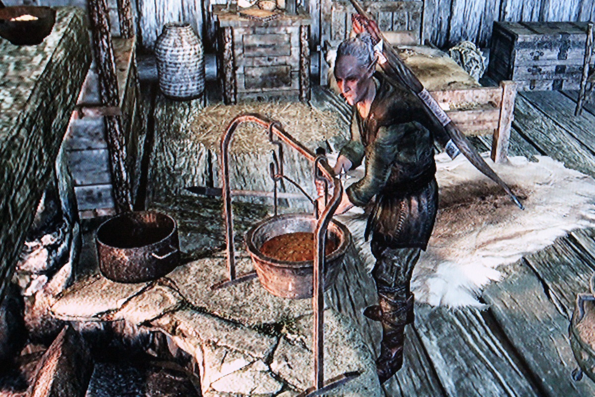 This is Faendal. Find him, do his bidding to befriend him, and make him do your bidding thereafter.