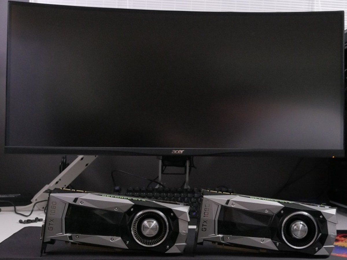Here's a look at the 1080 and the 1080 Ti side by side.