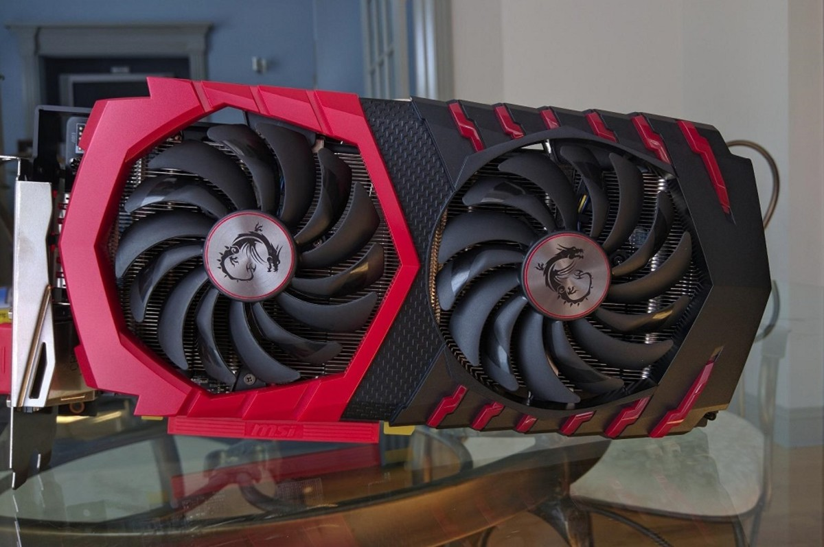 Pictured: MSI Gaming RX 480 8GB