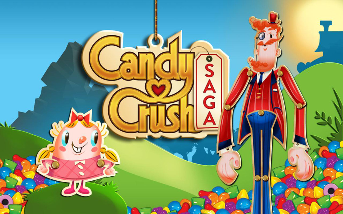 Oh gosh. With there already an Angry Birds movie adaptation, a Candy Crush one is likely on the way.
