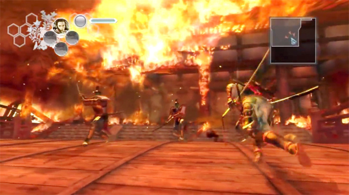 Fiery death match in Days of the Blade.