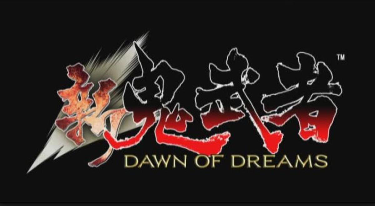 Title screen for Onimusha: Dawn of Dreams.