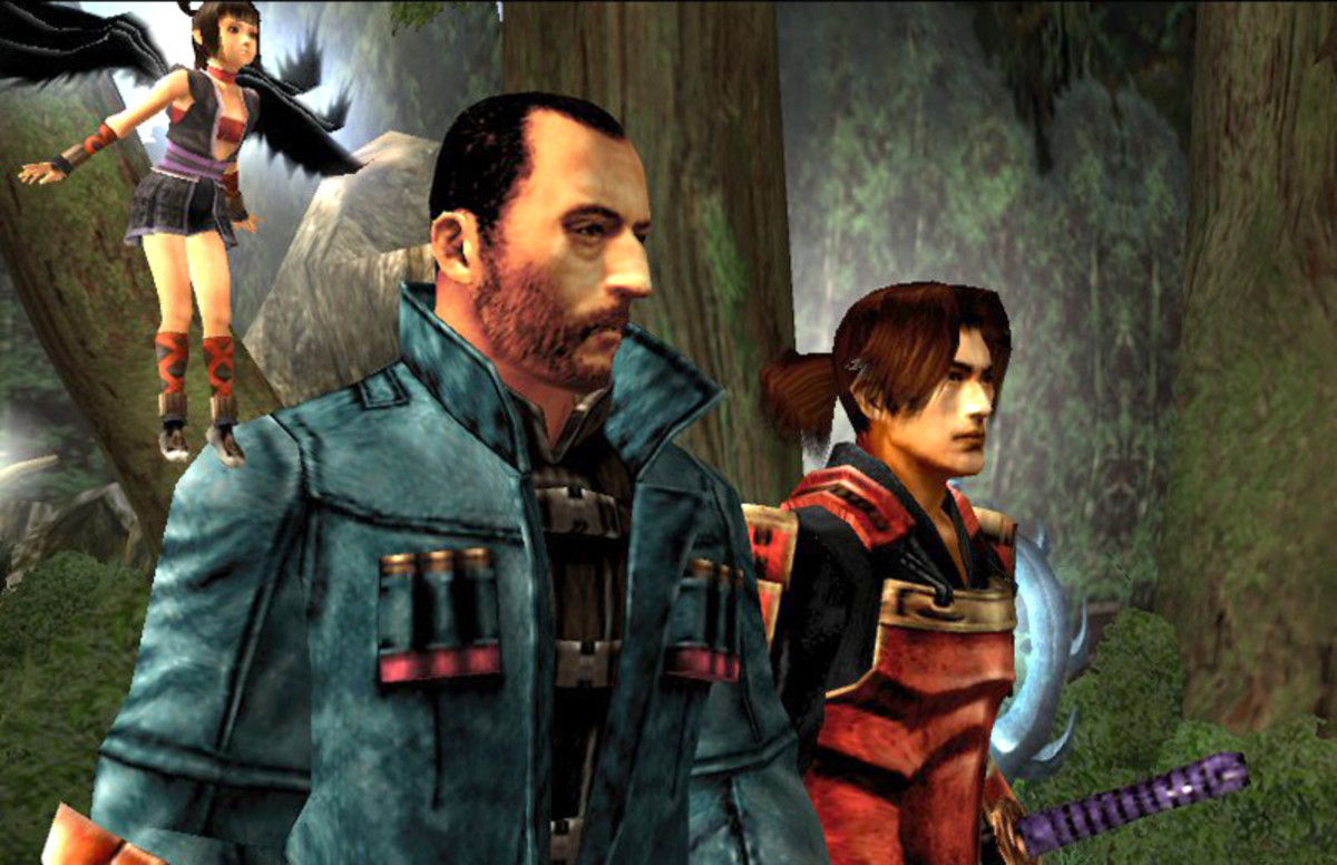 French star Jean Reno plays one of the two protagonists in Onimusha 3: Demon Siege.