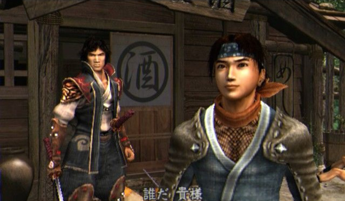 Screenshot from Onimusha 2: Samurai's Destiny.
