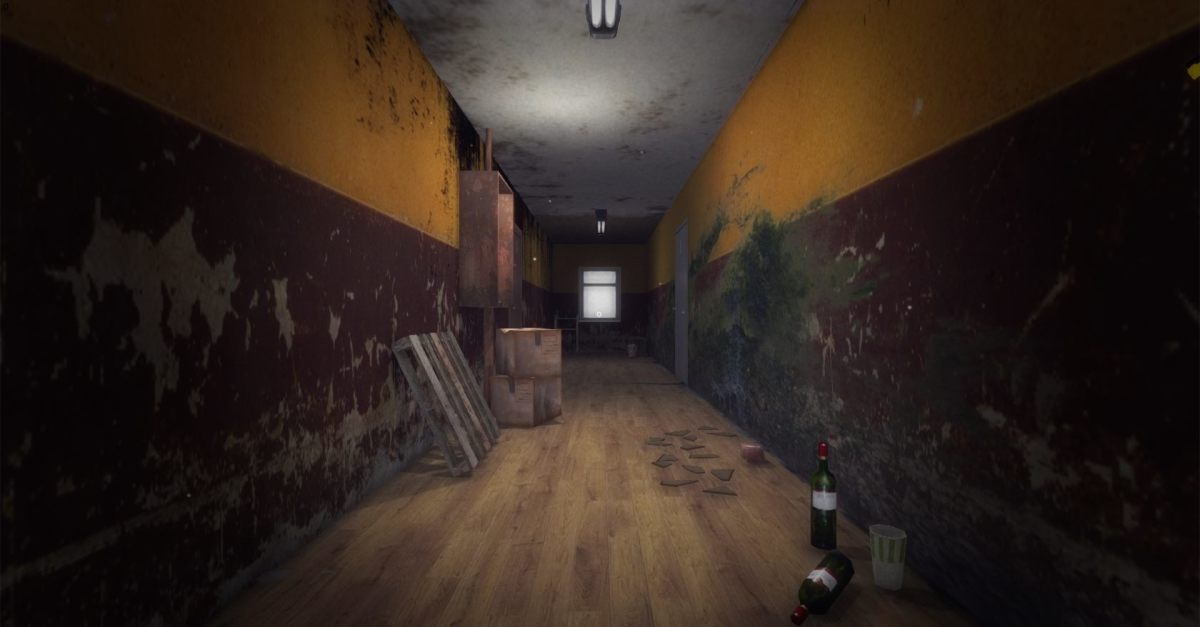 Spooky hallways are spooky.