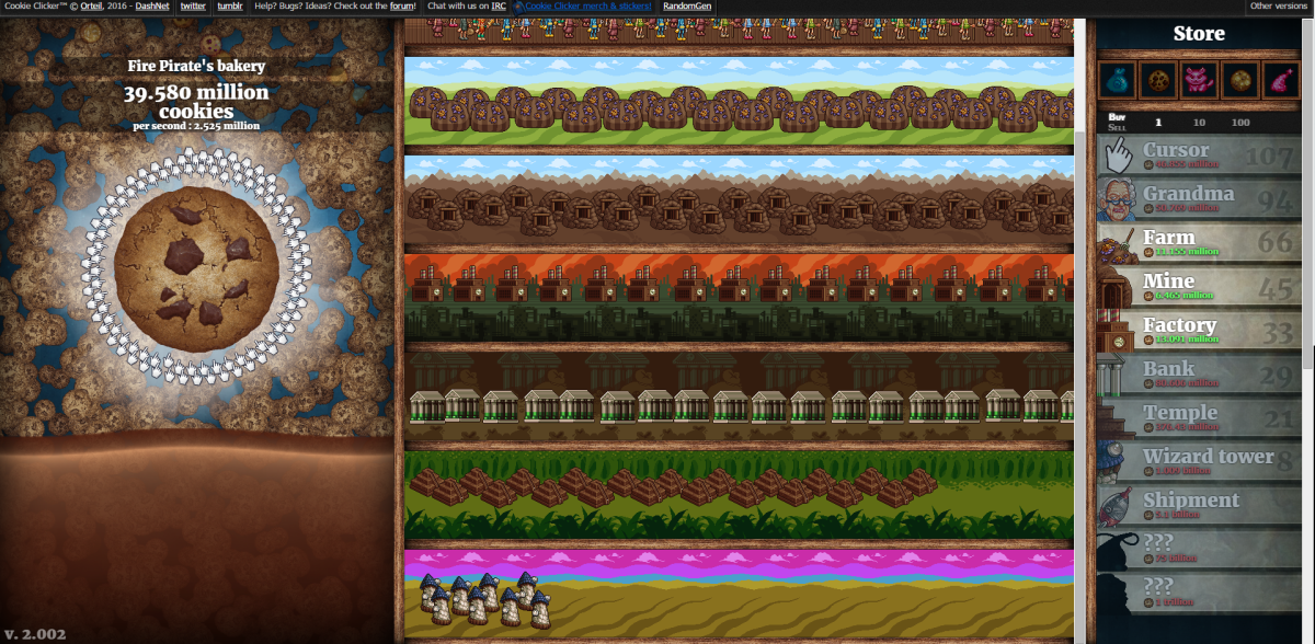 """Cookie Clicker"" Screenshot"