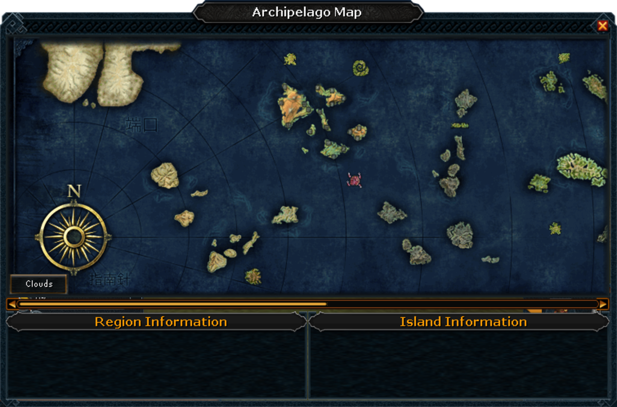 The map of the archipelago