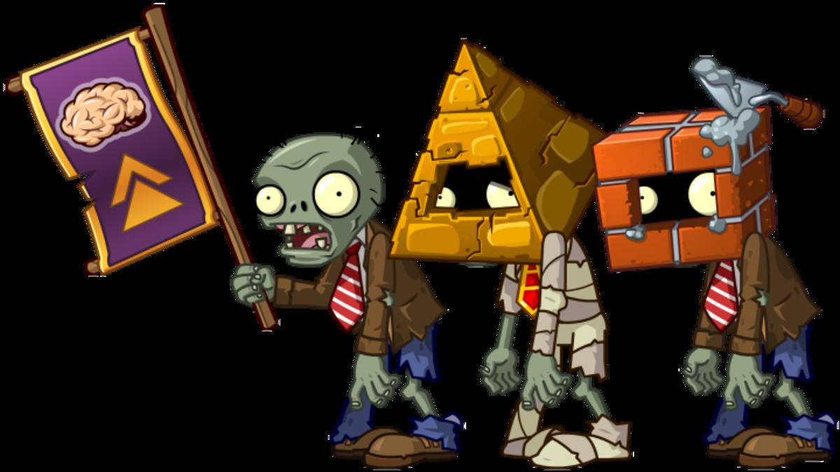 Zombies in pvz2