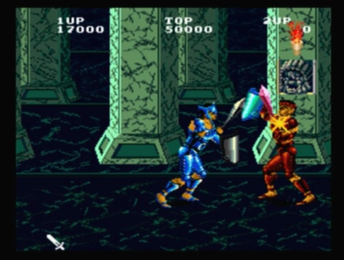 Gladiator combat!