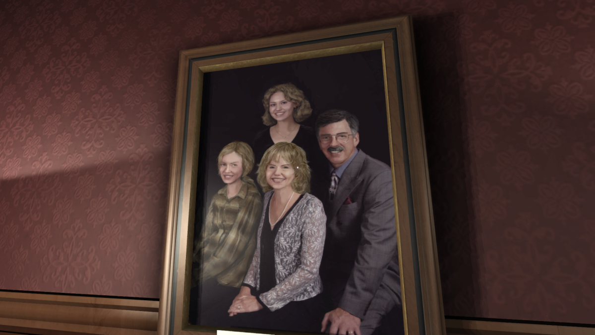 Your family's portrait (Katie is the top figure)