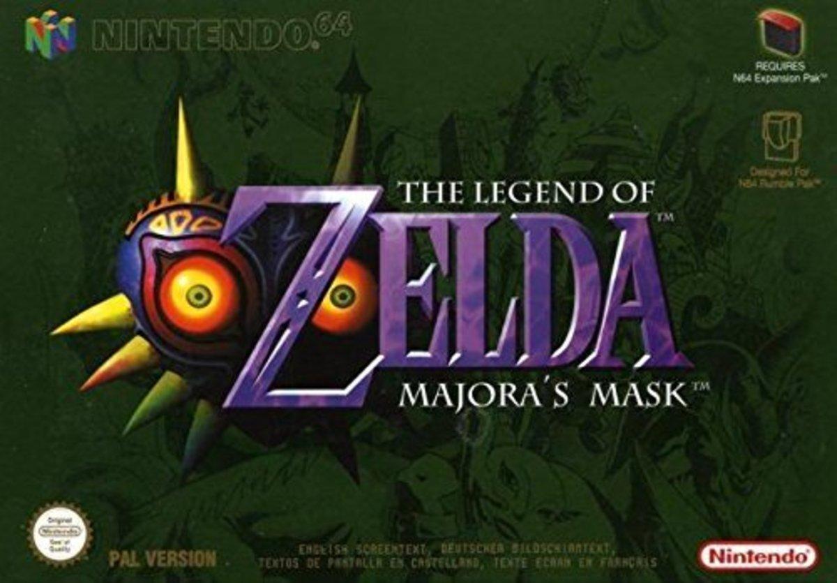 """""""The Legend of Zelda: Majora's Mask"""""""