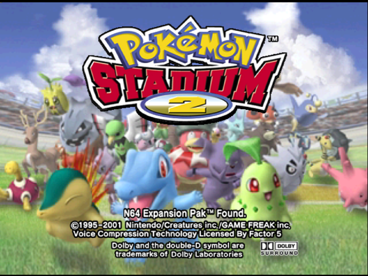 """Pokémon Stadium 2"""