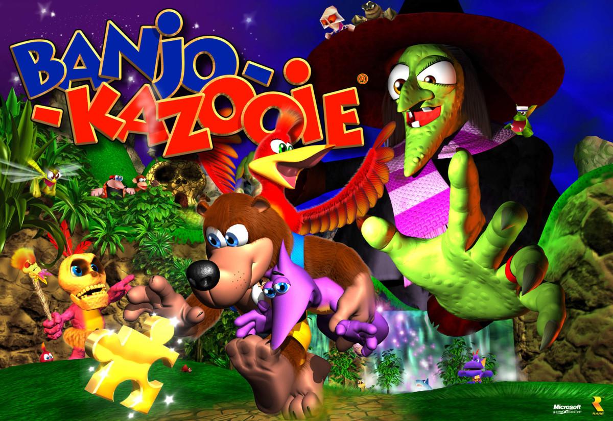 """"""" Banjo-Kazooie"""""""