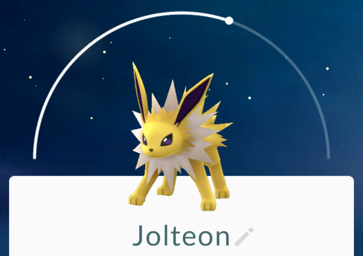 Jolteon is another evolution option with a lightning touch.