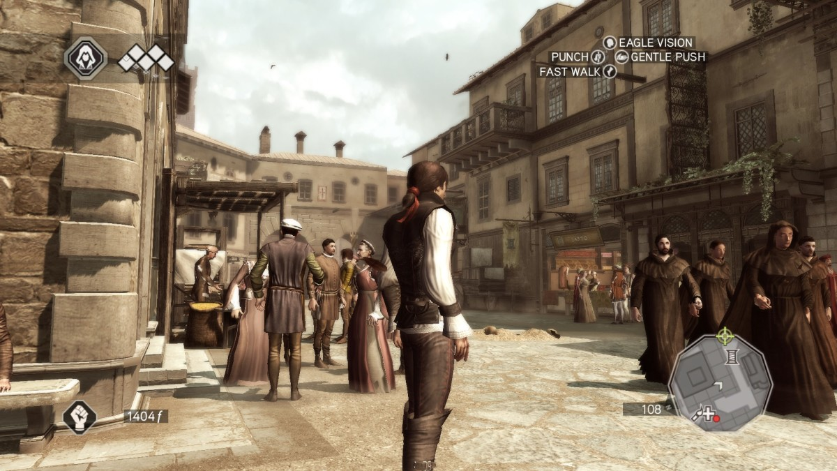 """Florence in """"Assassin's Creed II."""" Don't worry about the time difference. Florence today still looks very much like this."""