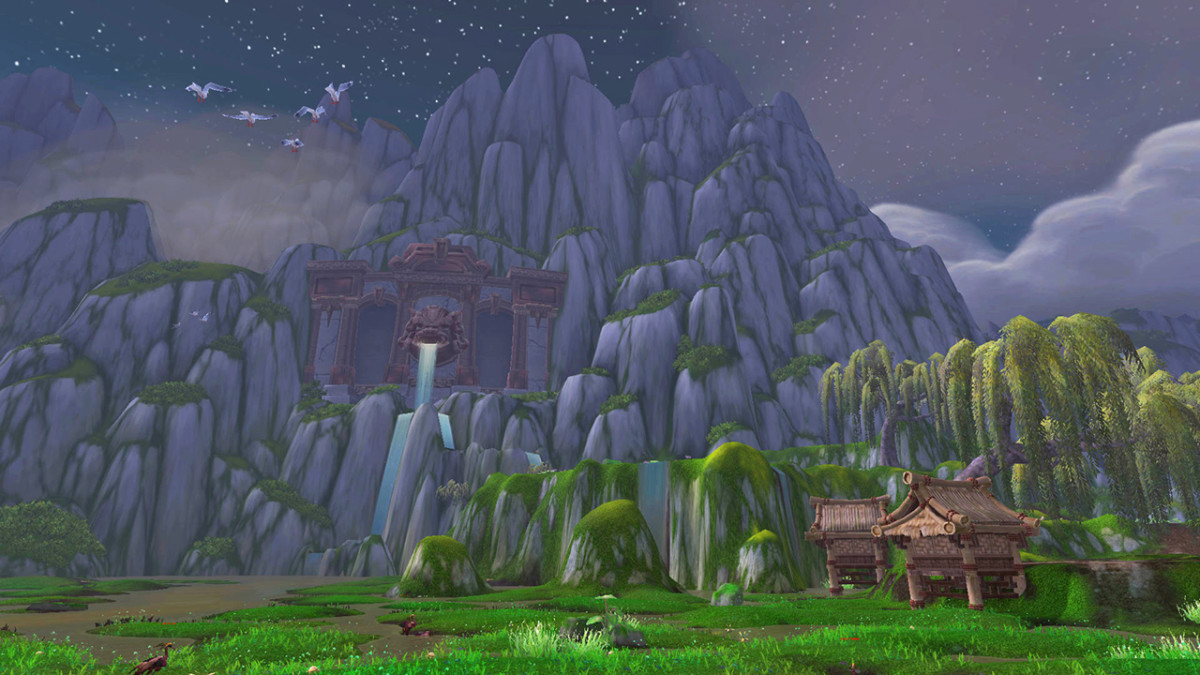 "Karst mountains, rolling plains and terracotta warrior-like statues. ""WoW's"" Pandaria is perfect for anyone wanting to tour China, but is sadly stuck at home."