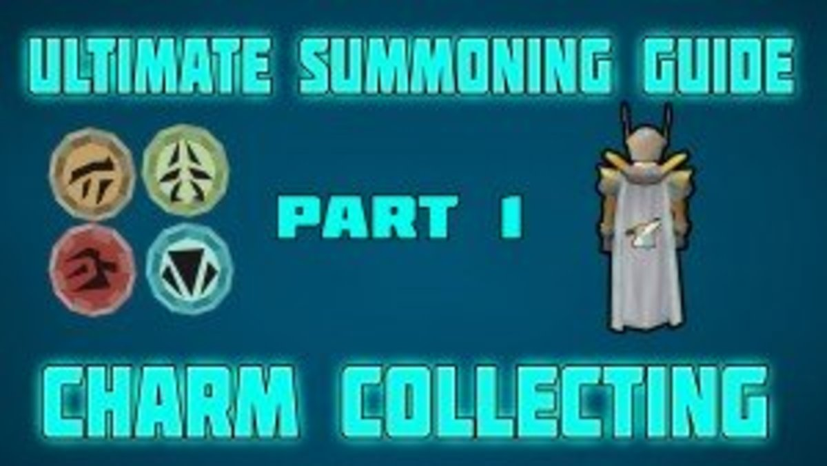 Collecting charms tends to be a bottleneck when training Summoning, but it doesn't have to be.