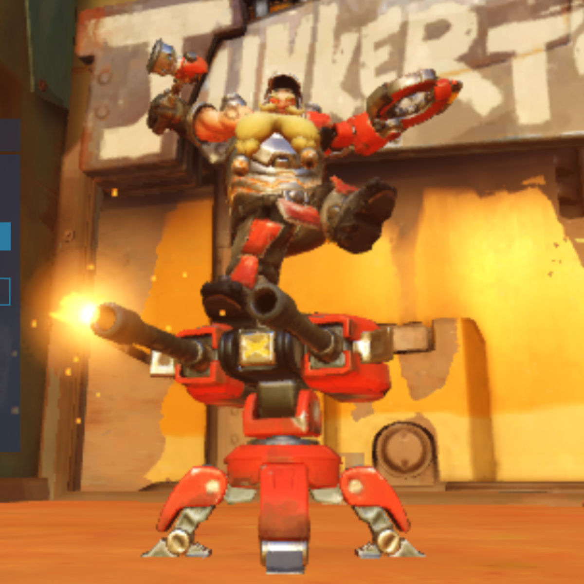 Torbjorn and his turret: still a better love story than Twilight.