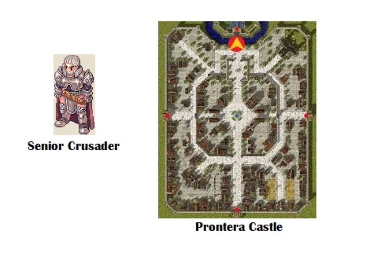 Return to the Senior Crusader to become a Crusader!